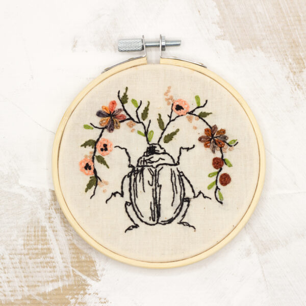 kit broderie insecte 1